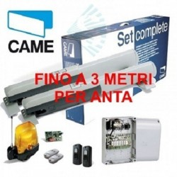 KIT CAME 001U7090 U7090 ATI 230V 3mt AUTOMAZIONE CANCELLO BATTENTE