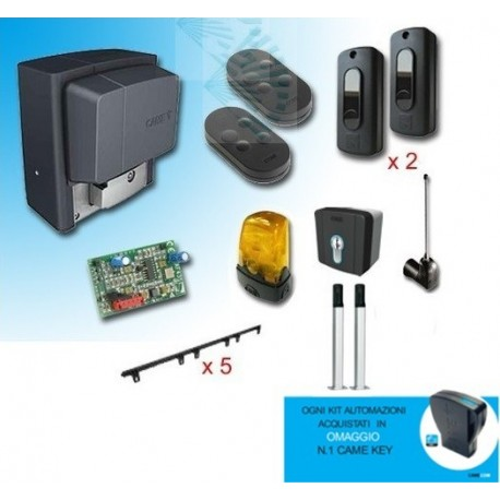 PROMO CAME KIT SCORREVOLE BXV 400Kg 24V con accessori